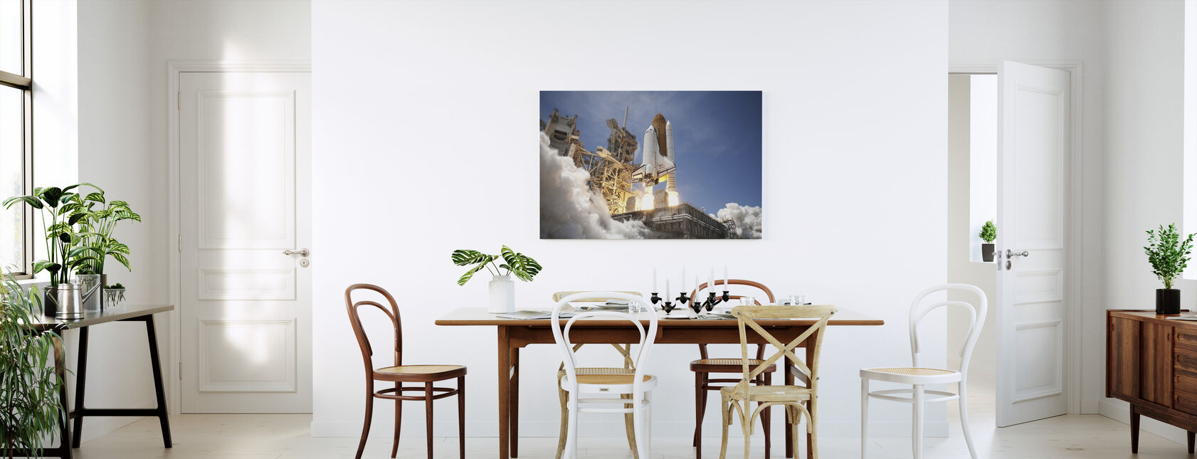 Space Shuttle - Canvas print - Kitchen