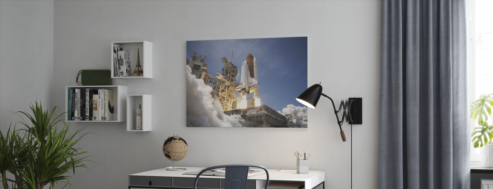 Space Shuttle - Canvas print - Office