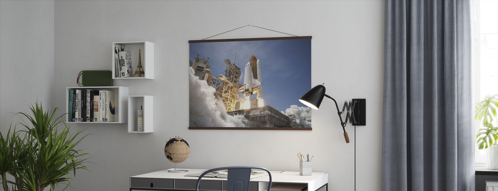 Space Shuttle - Poster - Office