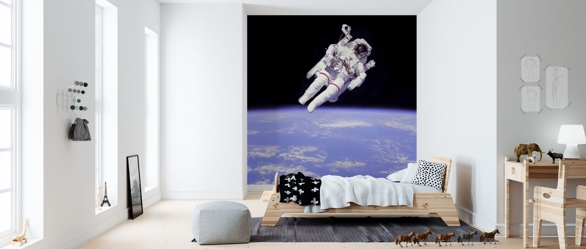 Astronaut - Wallpaper - Kids Room