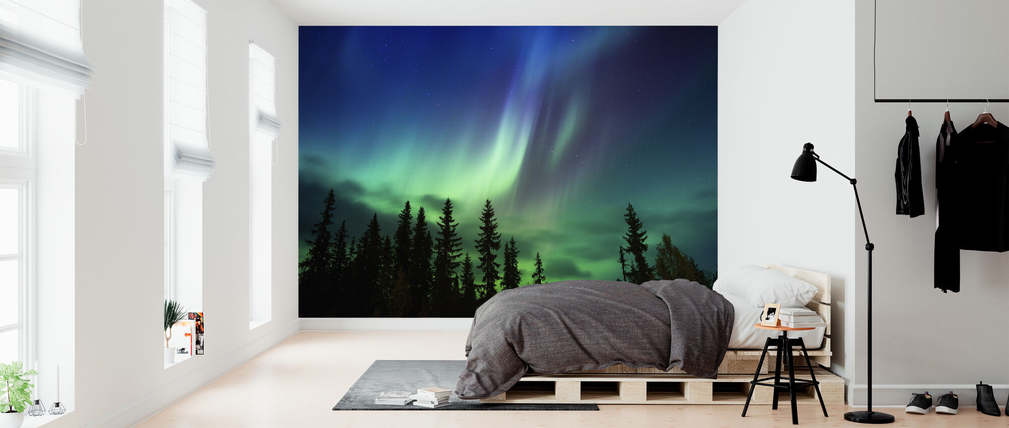 Enlightenment of Night - Wallpaper - Bedroom