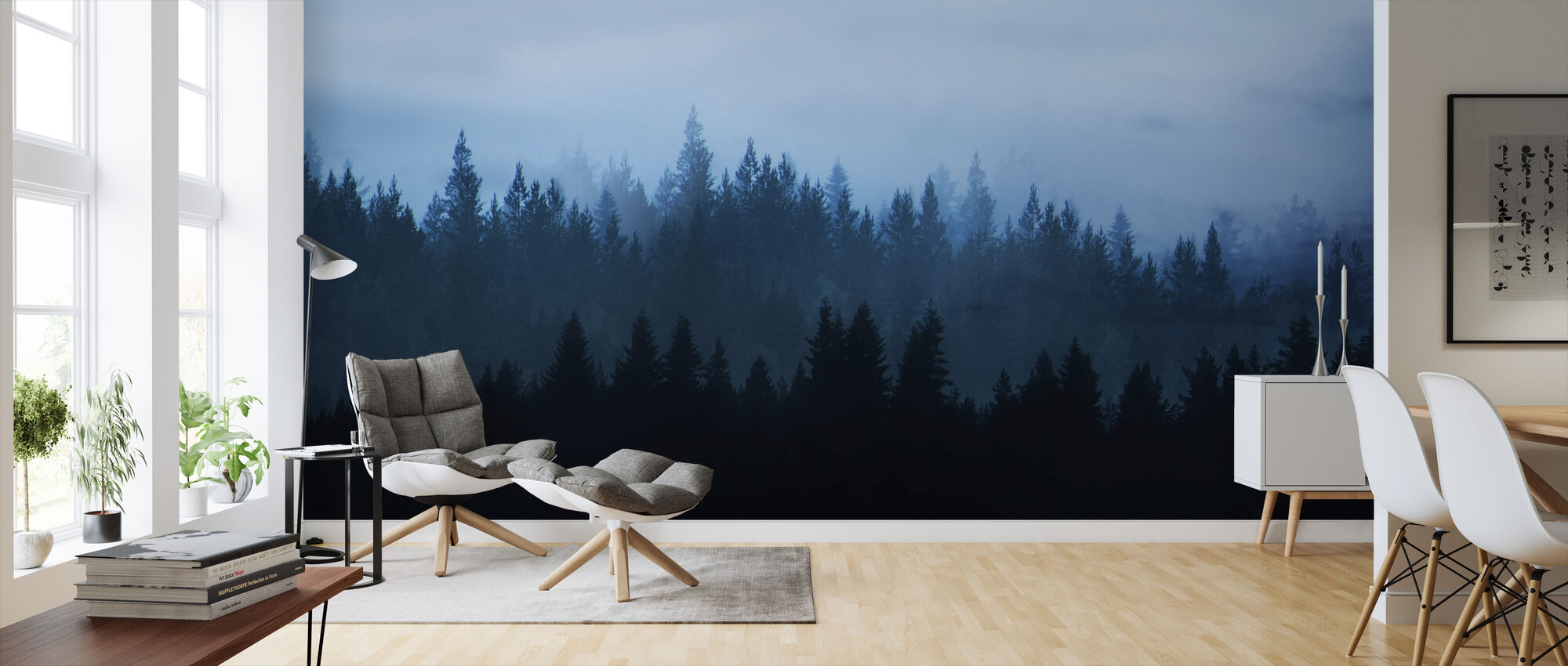 Forest of Dreams - Wallpaper - Living Room
