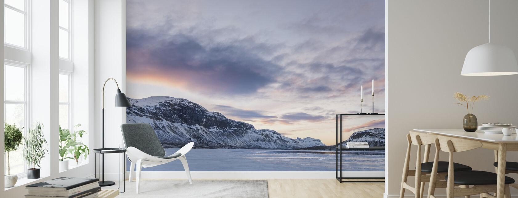 Saltoluokta - Wallpaper - Living Room