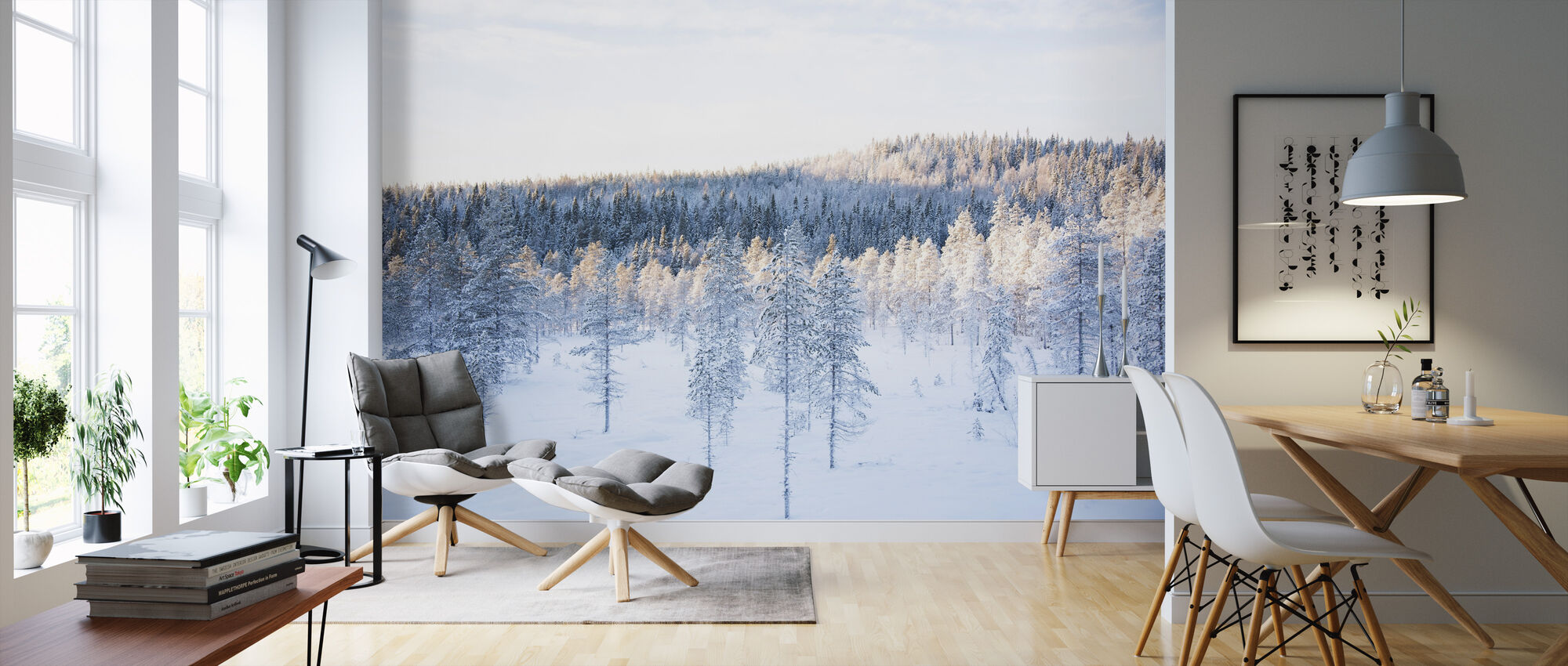 Silence of Winter I - Wallpaper - Living Room