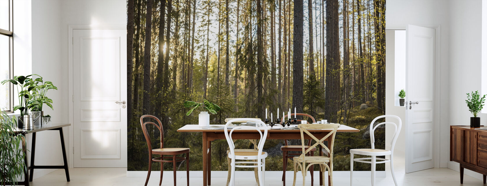 The Fairytale Forest - Wallpaper - Kitchen