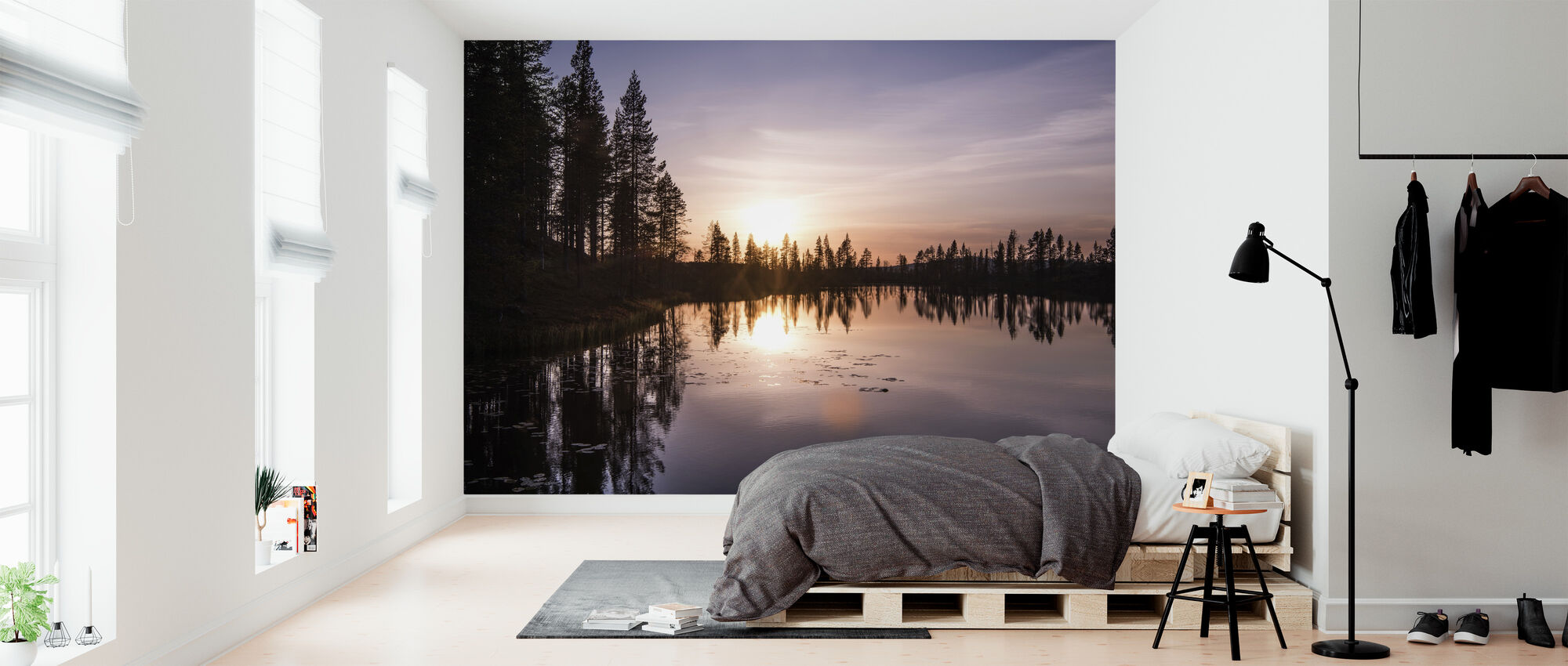The Lake of Love - Wallpaper - Bedroom