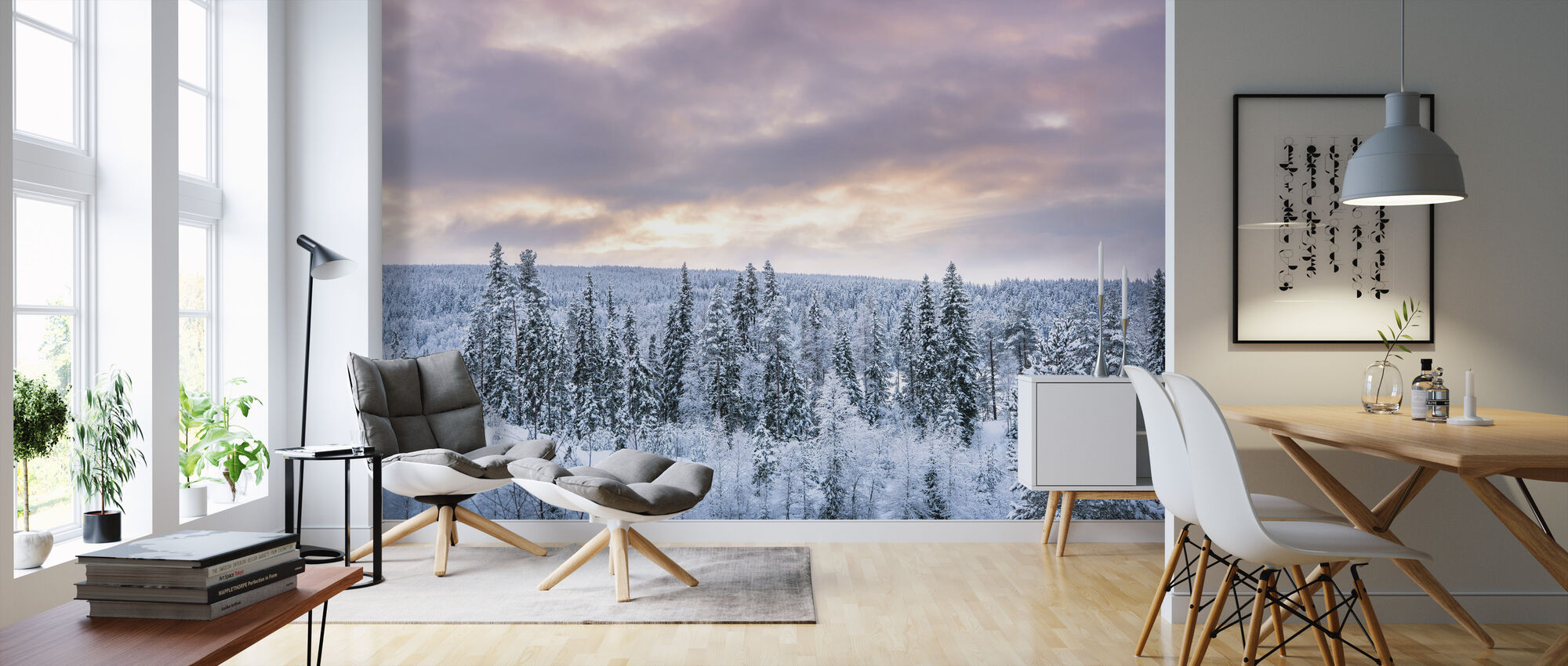 Winter is Coming - Wallpaper - Living Room