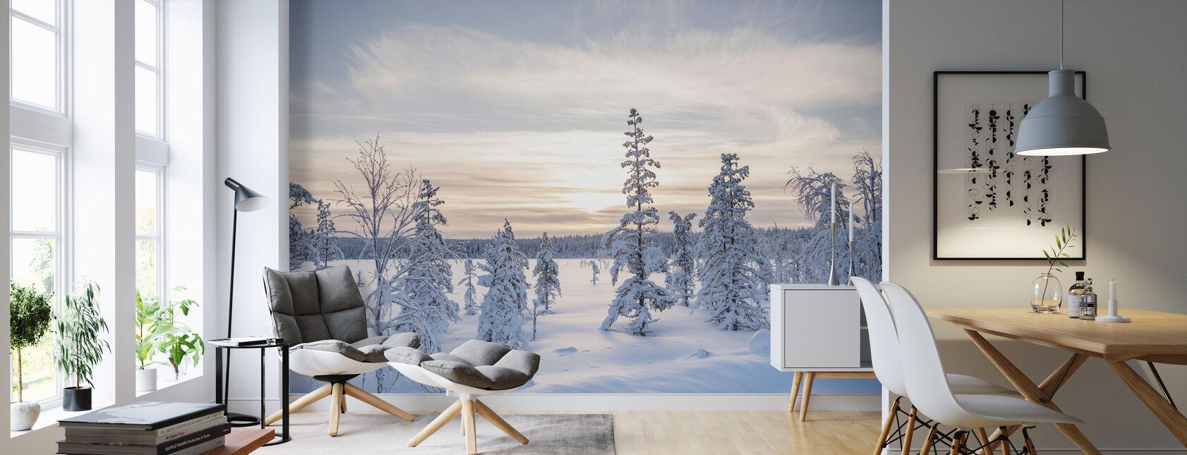 Día de Invierno - Papel pintado - Salón