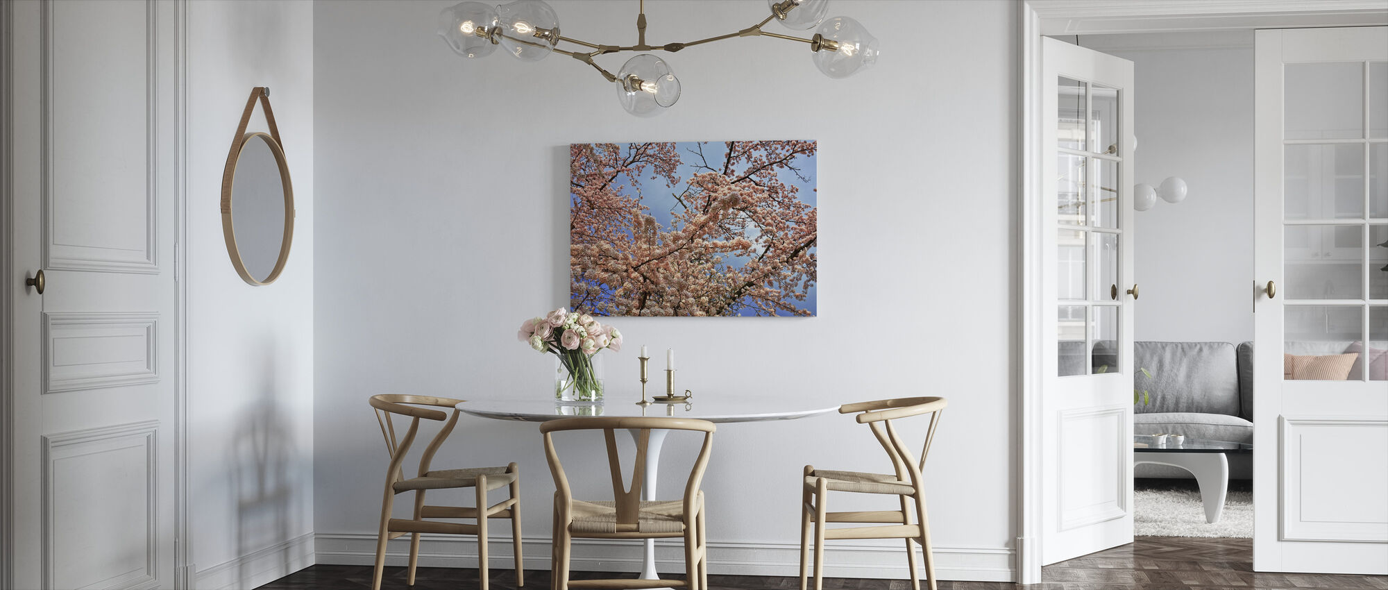 Cherry Blossom Tree - Canvas print - Kitchen