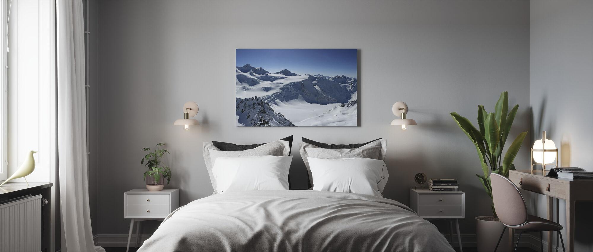 Sommet de la montagne - Impression sur toile - Chambre