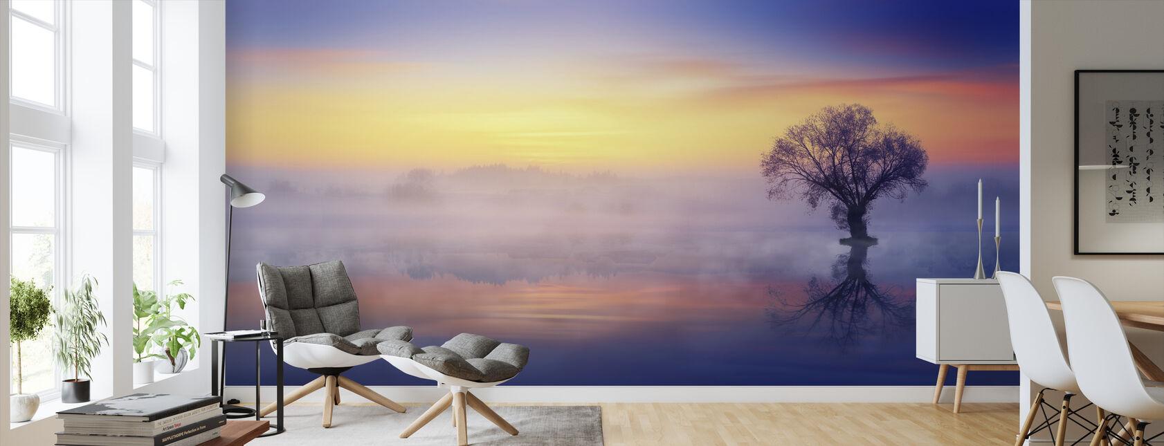 Lonely Tree - Wallpaper - Living Room