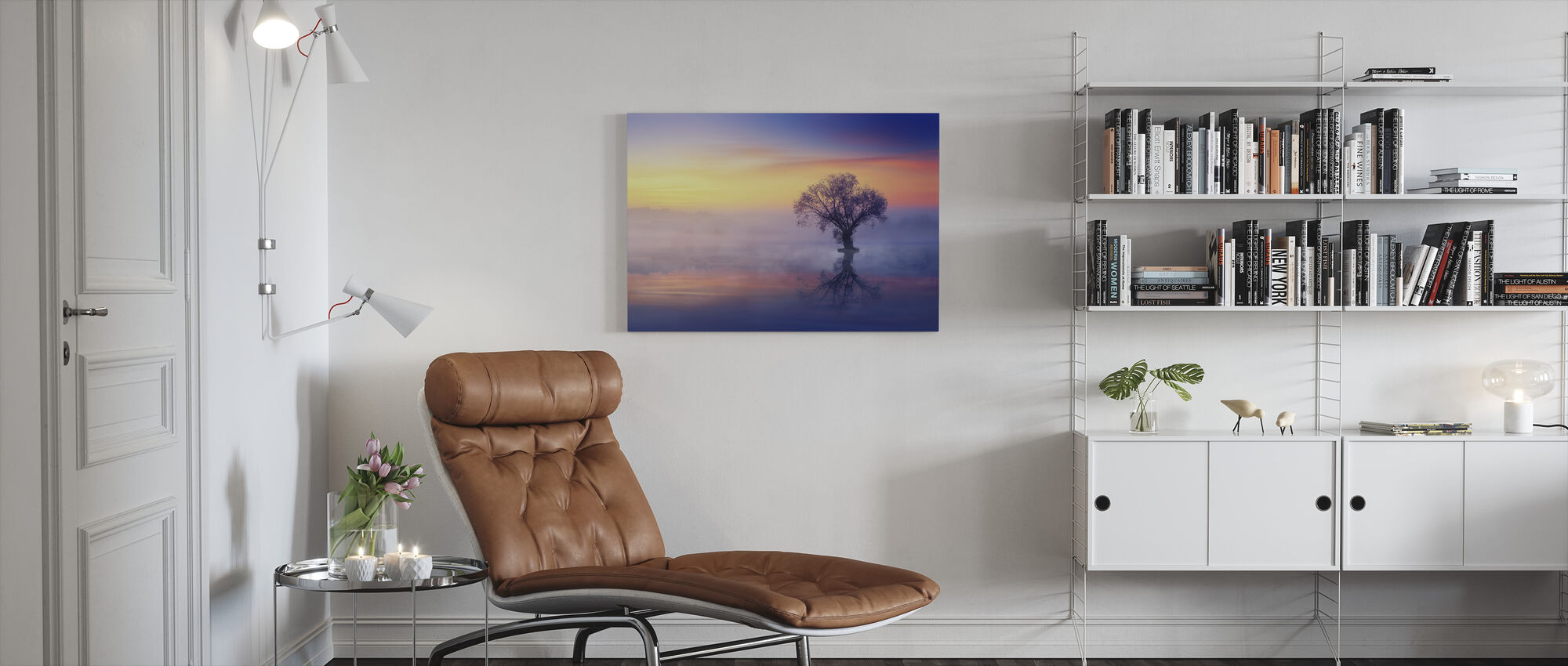 Lonely Tree - Canvas print - Living Room