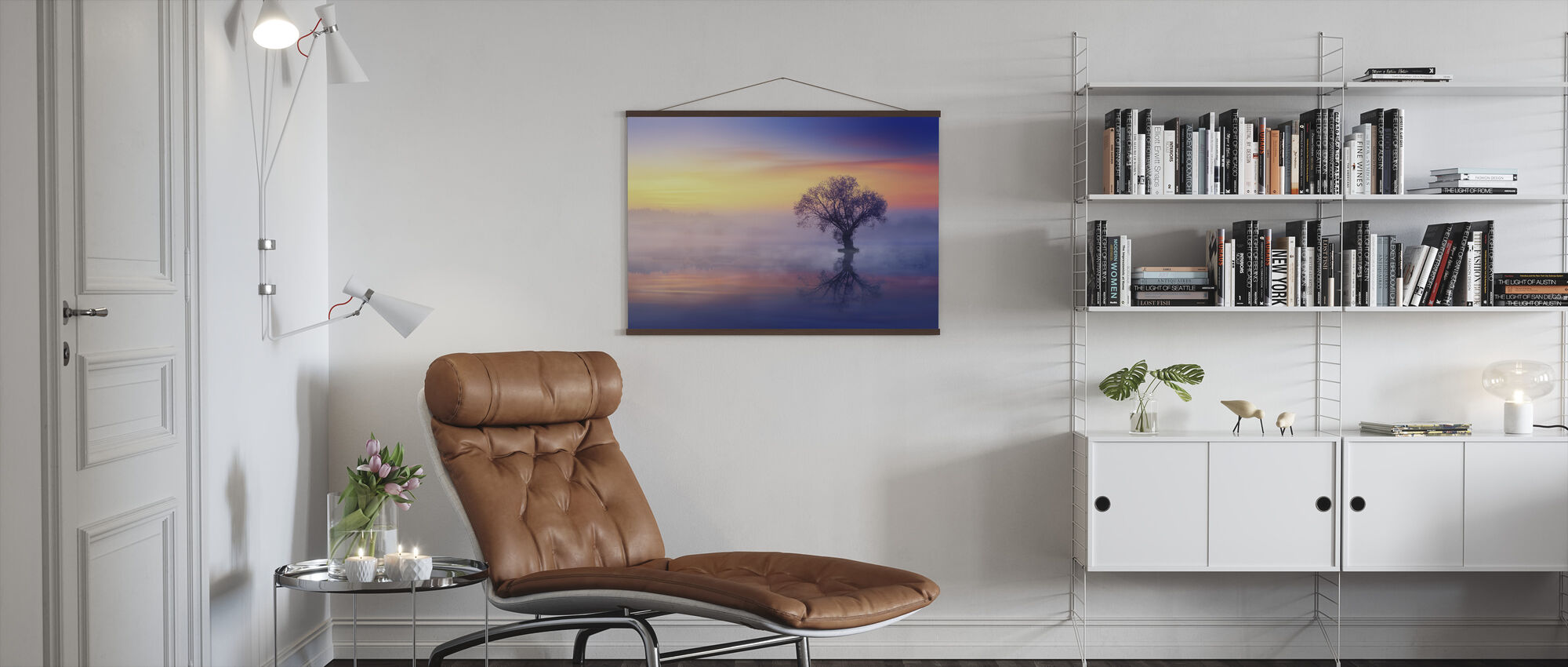 Lonely Tree - Poster - Living Room