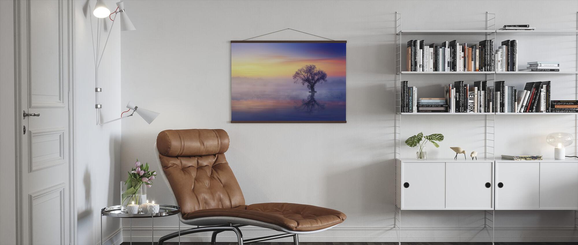 Ensomt Træ - Plakat - Stue