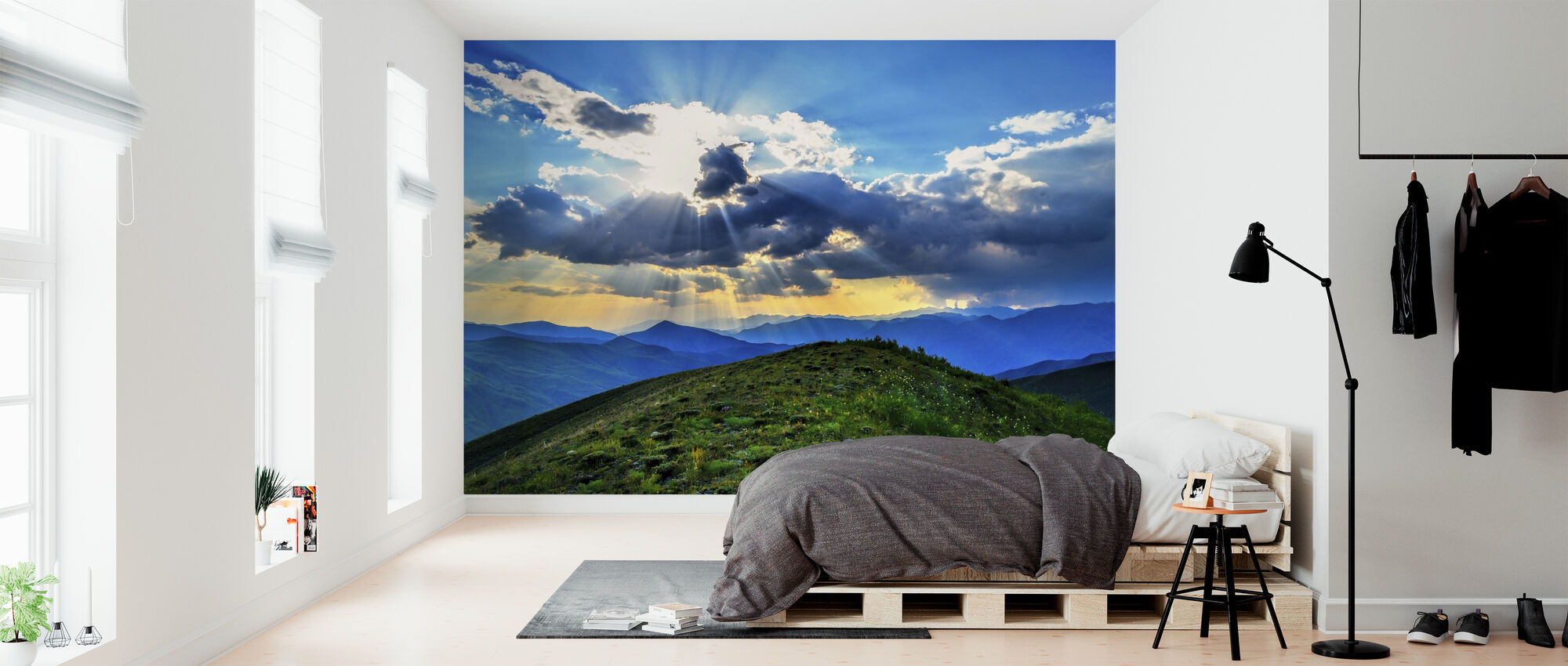 Panoramic Sunset - Wallpaper - Bedroom