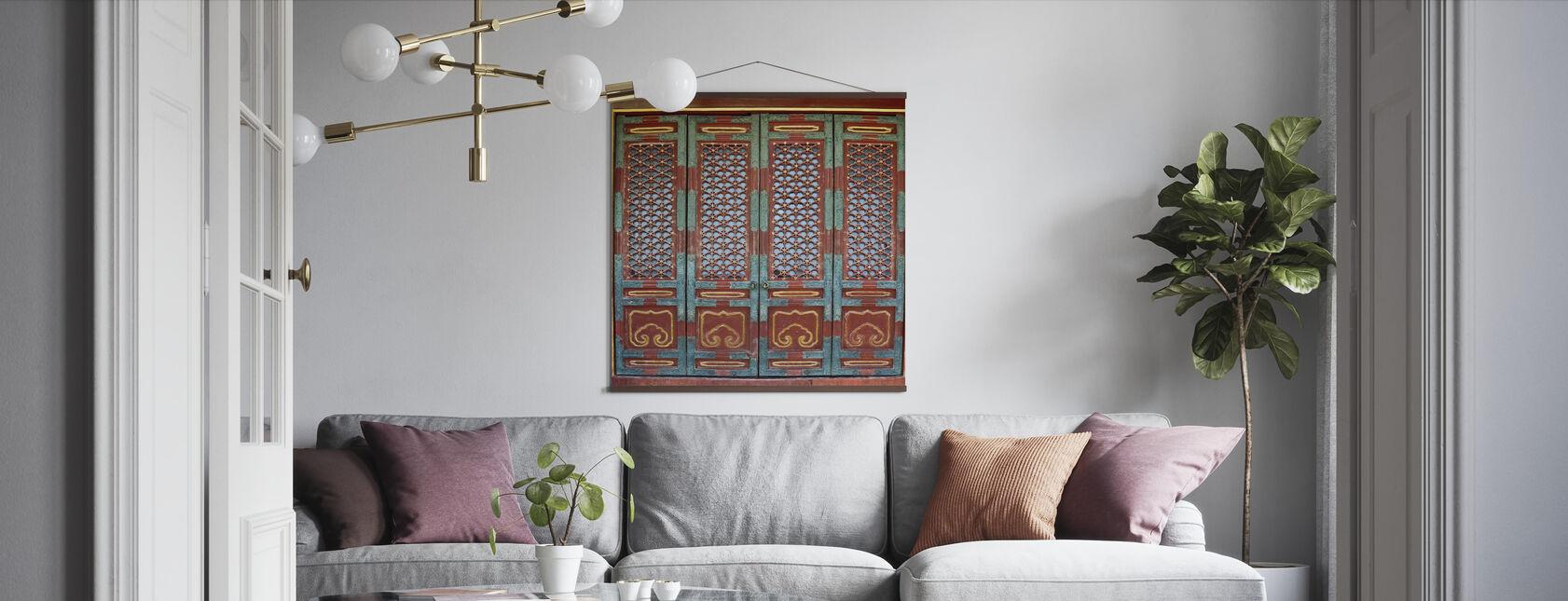 Ornament Door - Poster - Living Room