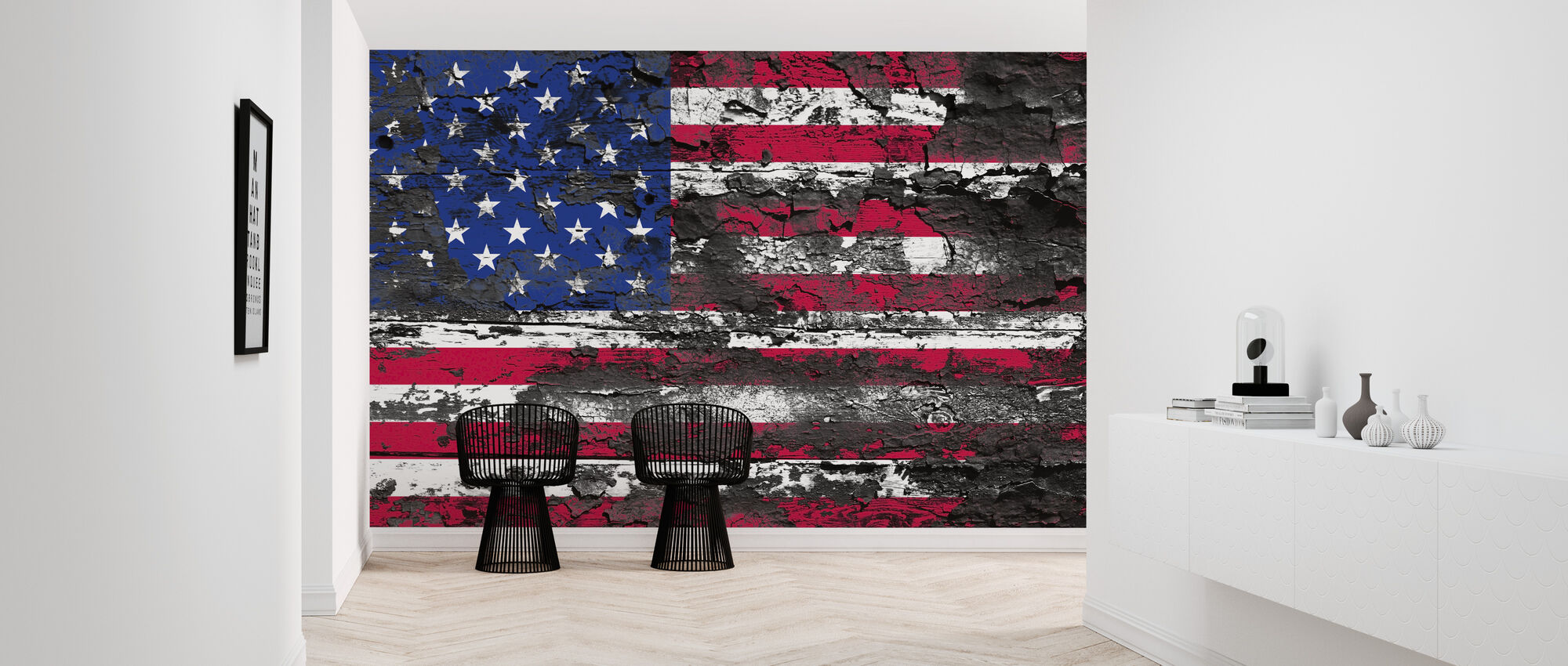 American Flag A Wall Mural For Every Room Photowall