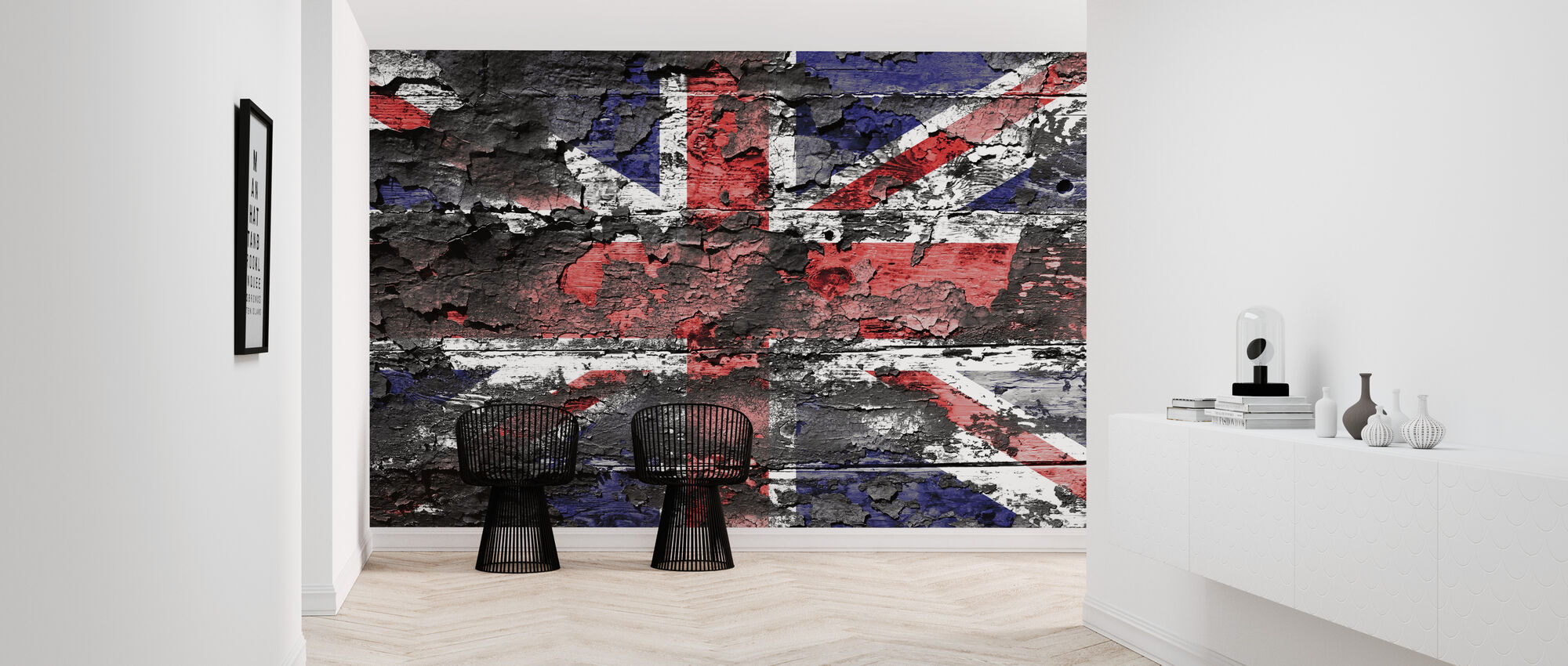 Great Britain Flag - Wallpaper - Hallway