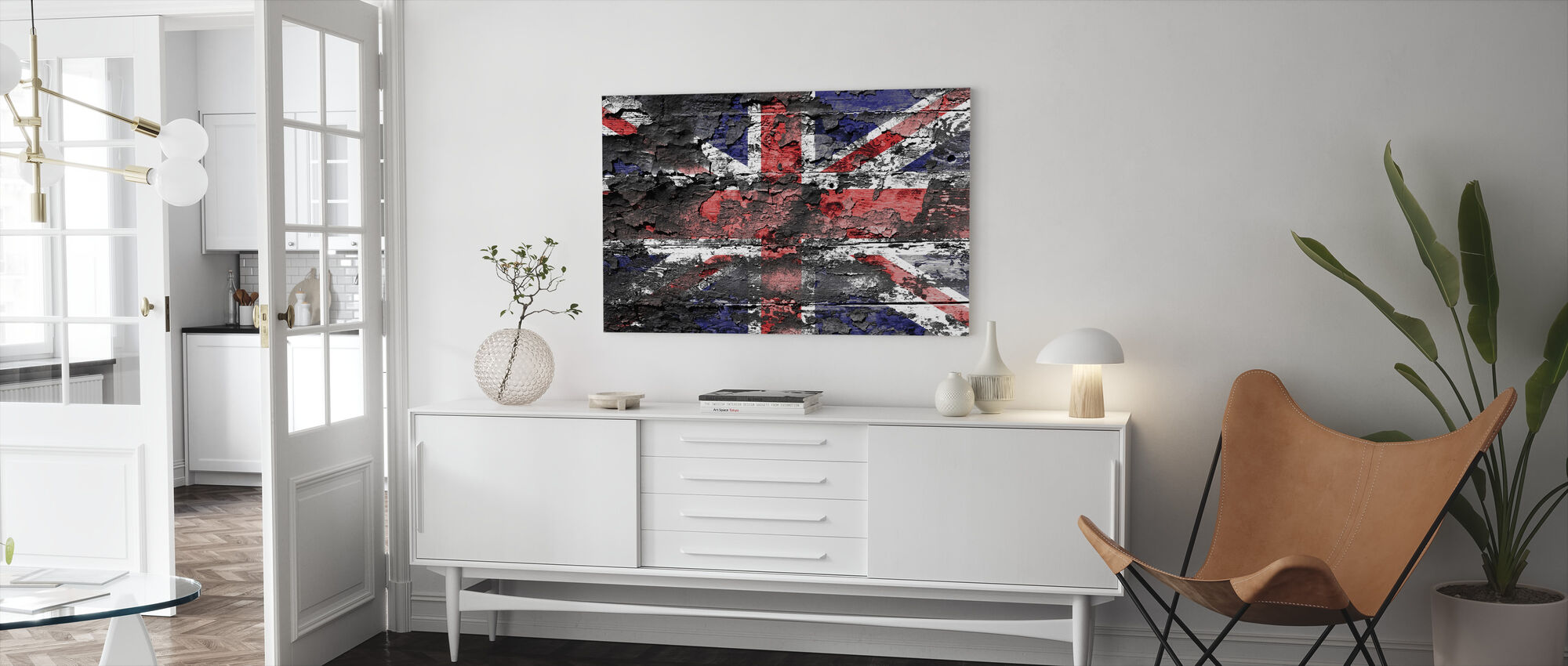 Great Britain Flag - Canvas print - Living Room
