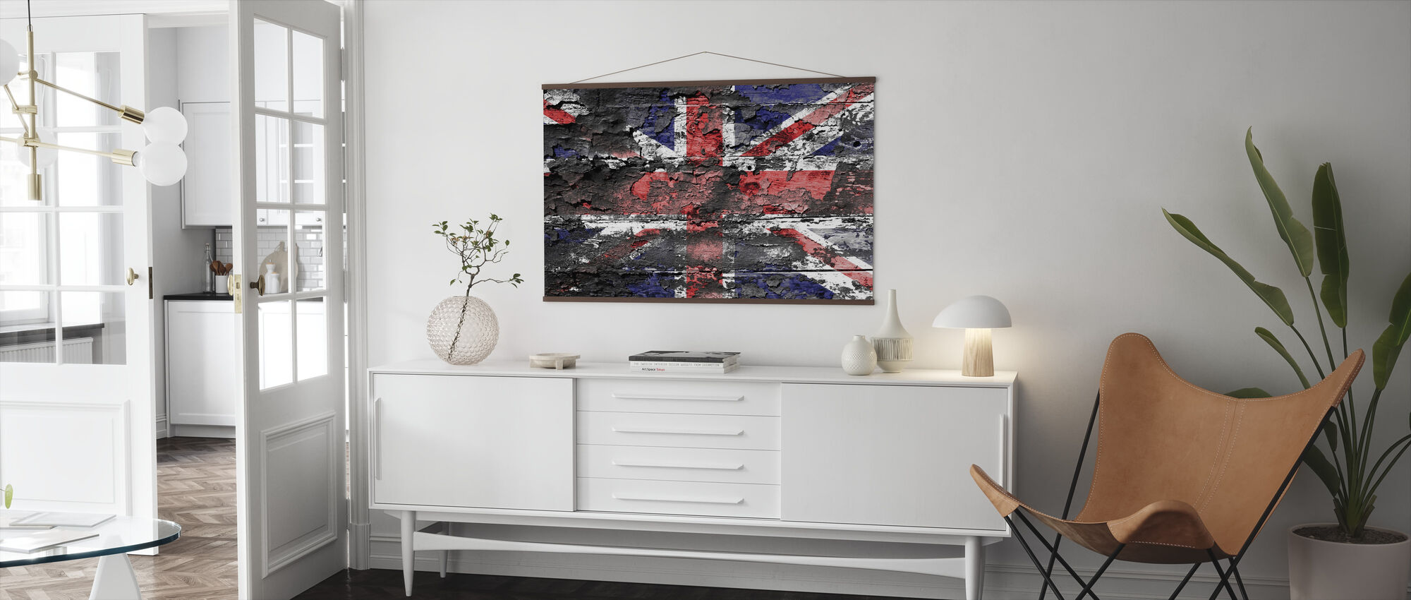 Great Britain Flag - Poster - Living Room