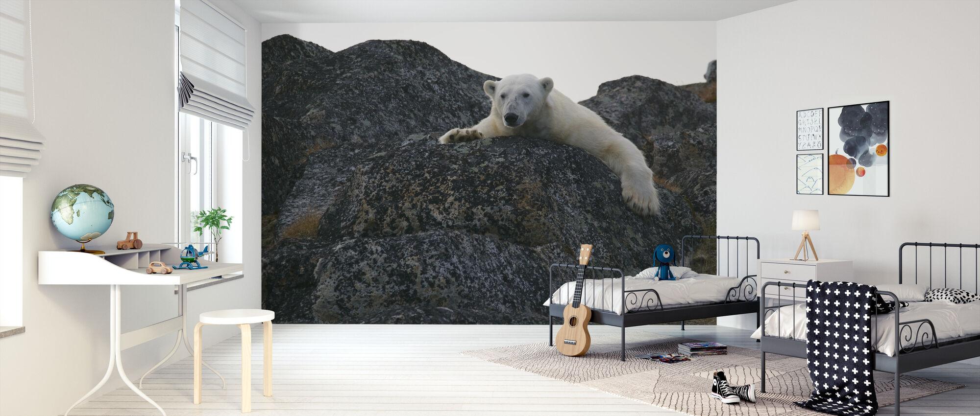 Hvit isbjørn - Tapet - Barnerom