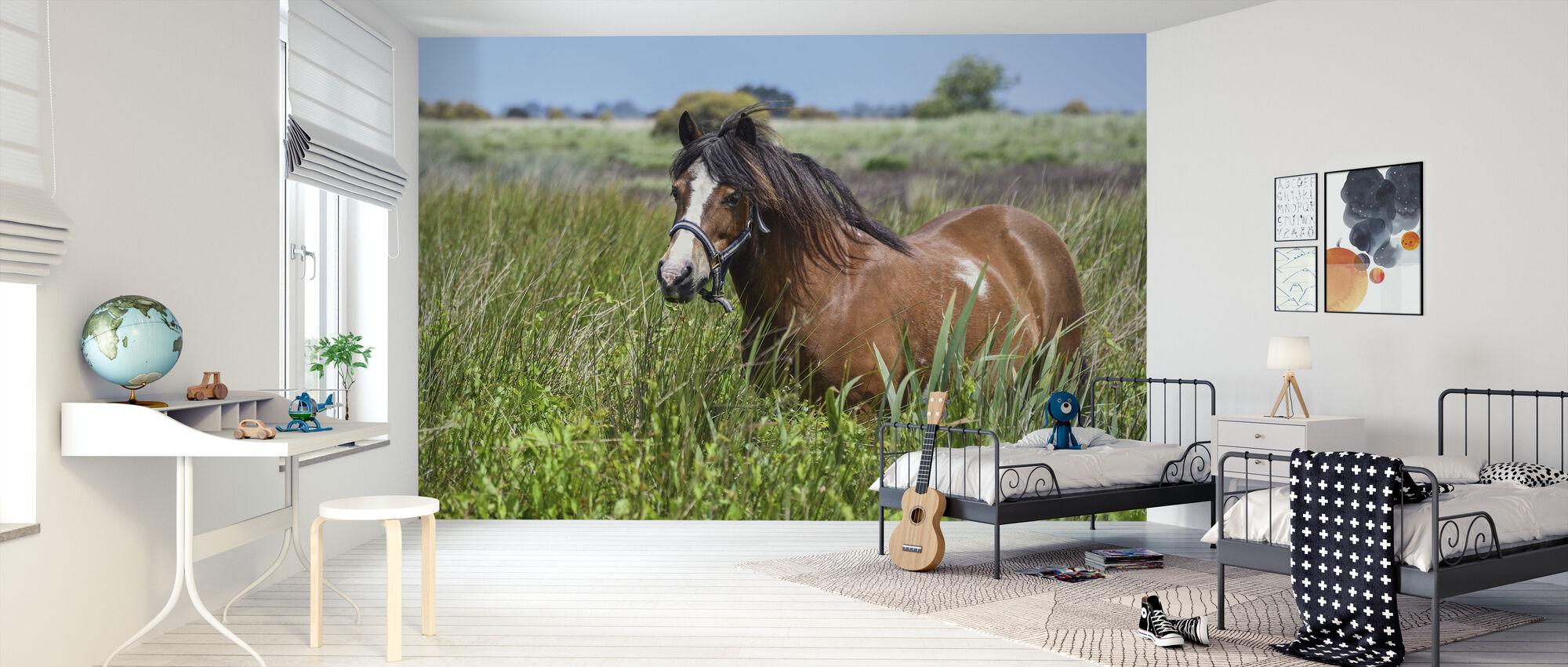 Pony - Wallpaper - Kids Room