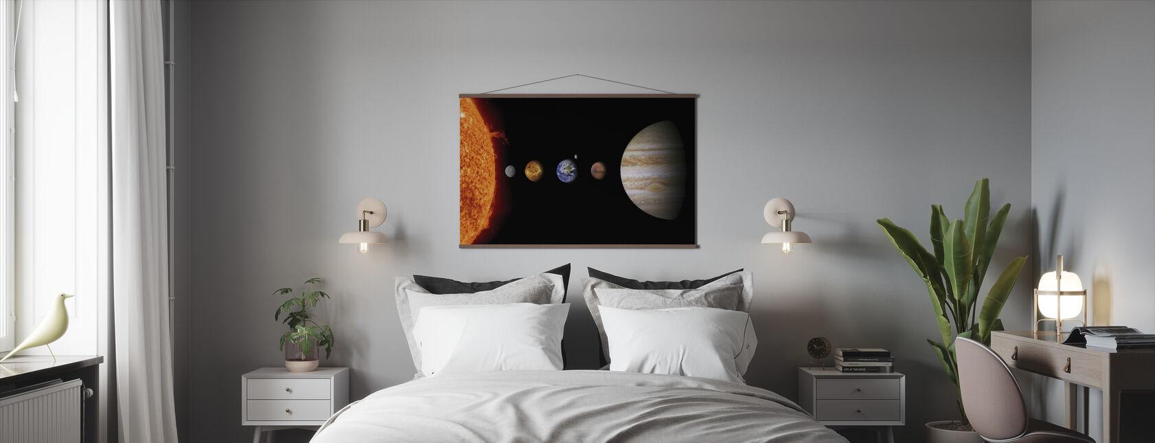 Solsystemet - Poster - Sovrum