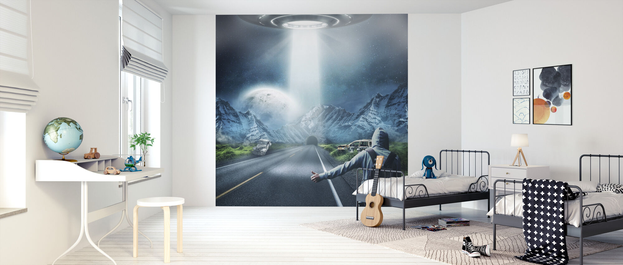 UFO Fantasy - Wallpaper - Kids Room