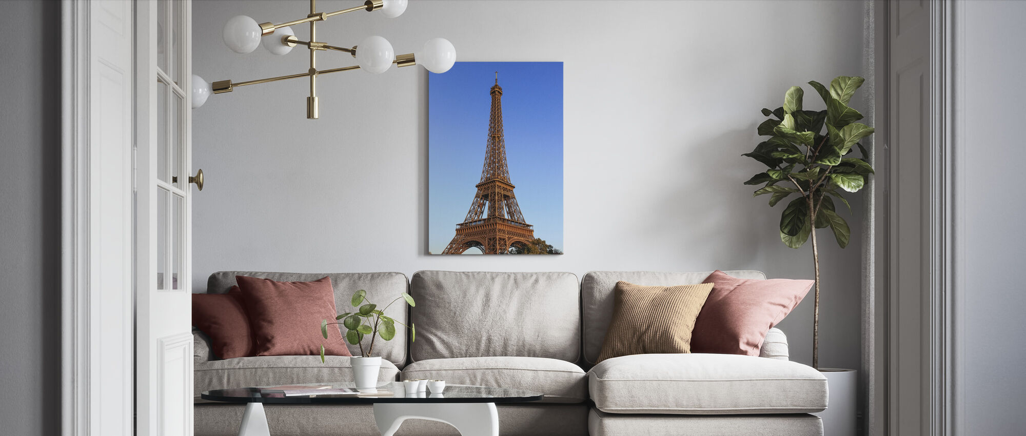 Eiffel Tower - Canvas print - Living Room