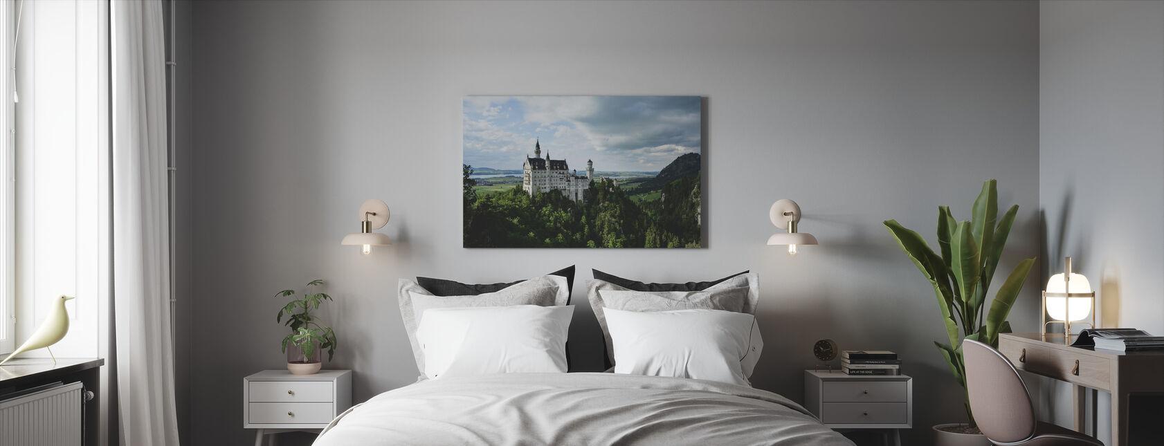 Neuschwanstein slott - Canvastavla - Sovrum