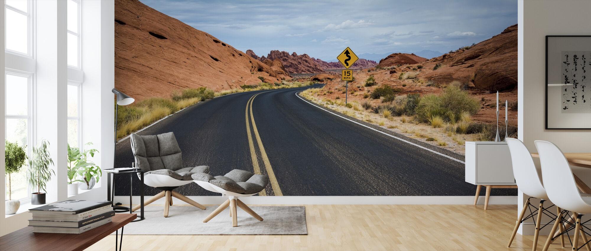 Aavikon valtatie - Tapetti - Olohuone