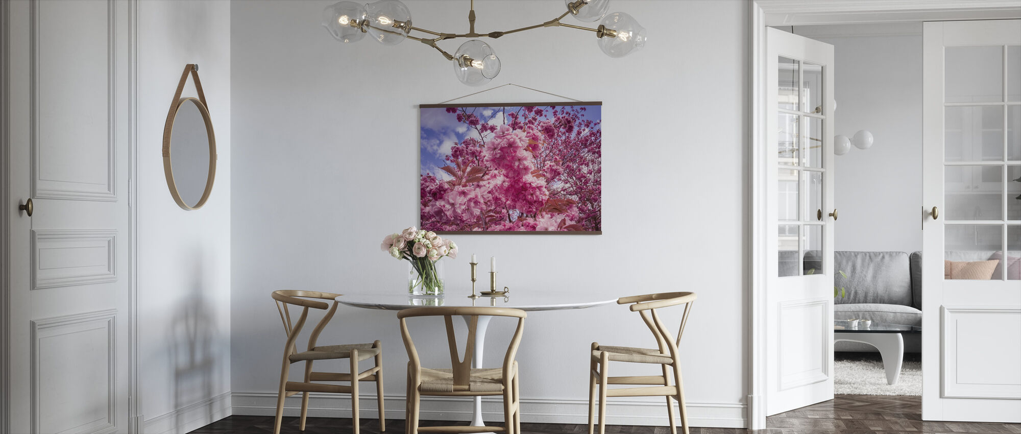 Japanese Cherry Trees - Poster - Kitchen