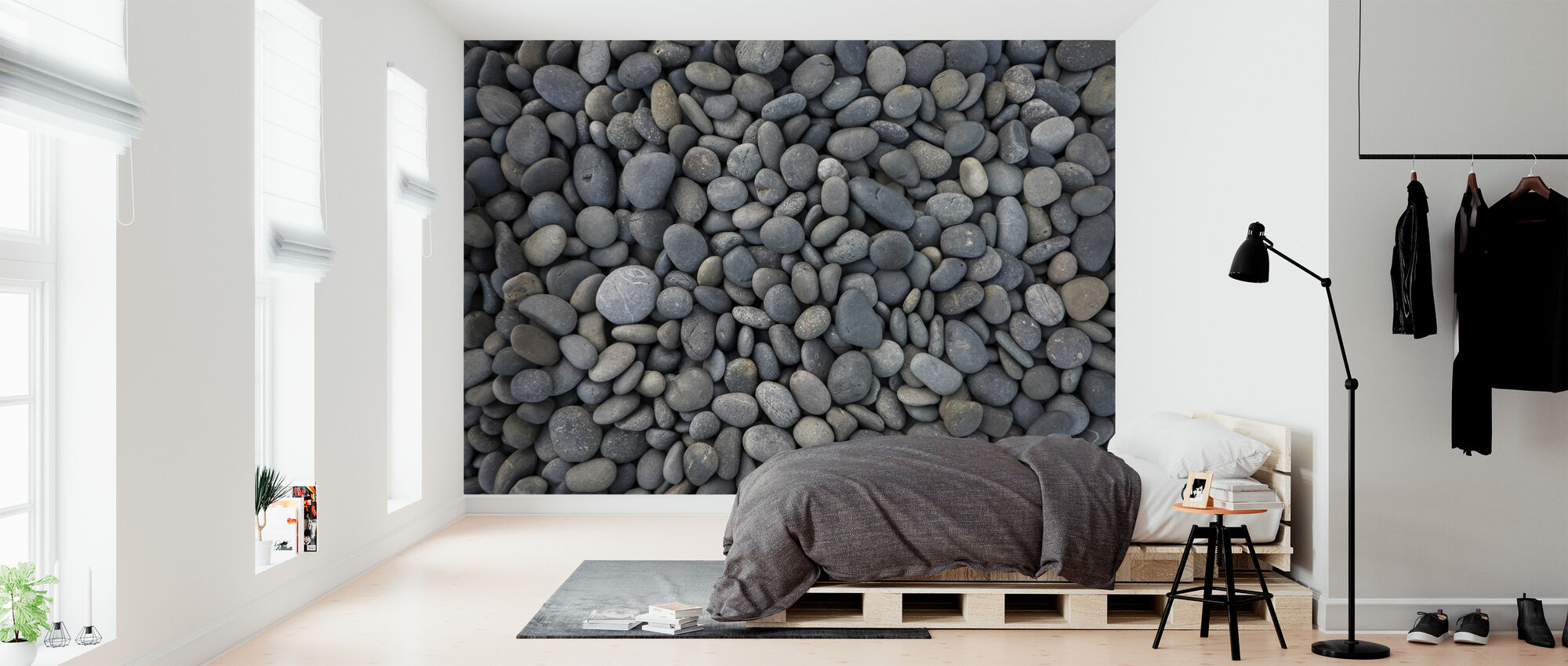 Pile of Pebbles - Wallpaper - Bedroom