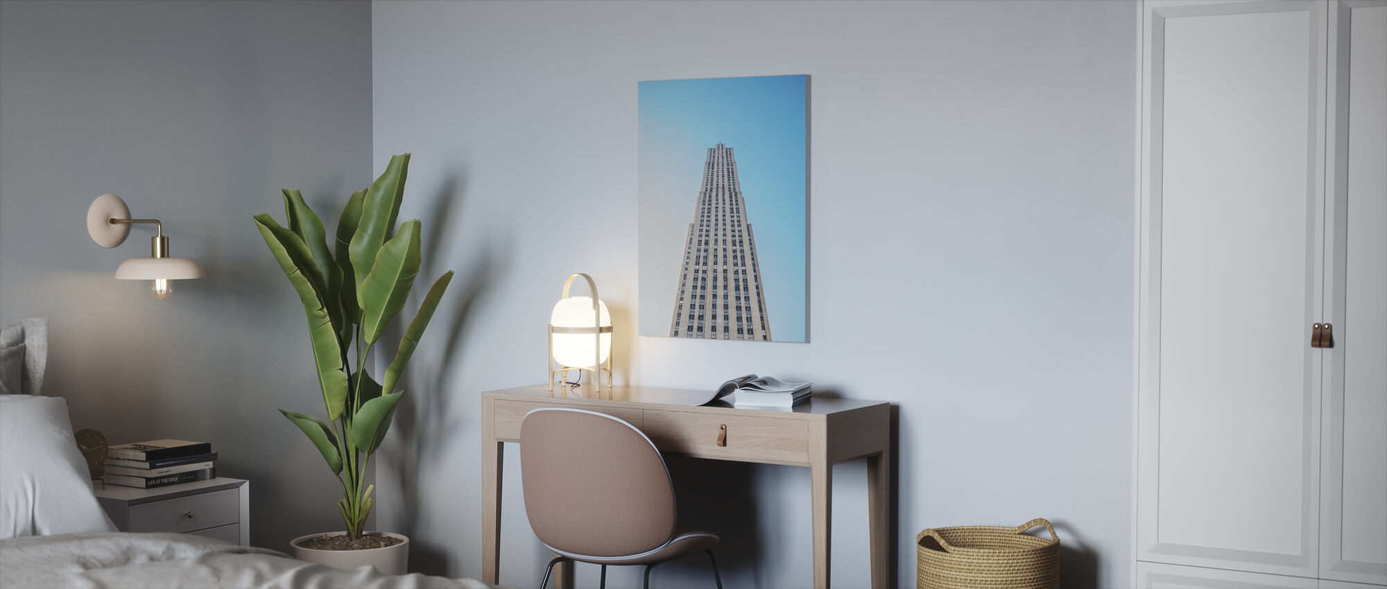 Downtown Skyscrapper - Canvas print - Office