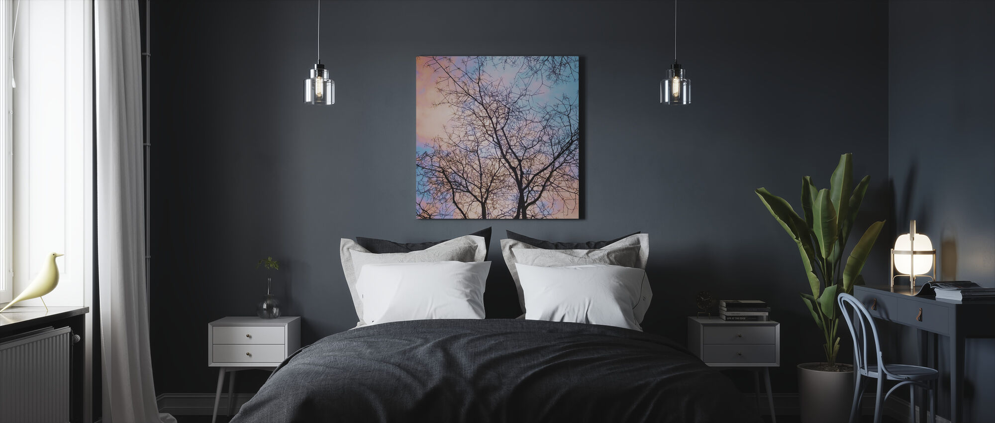 Bare Tree - Canvas print - Bedroom