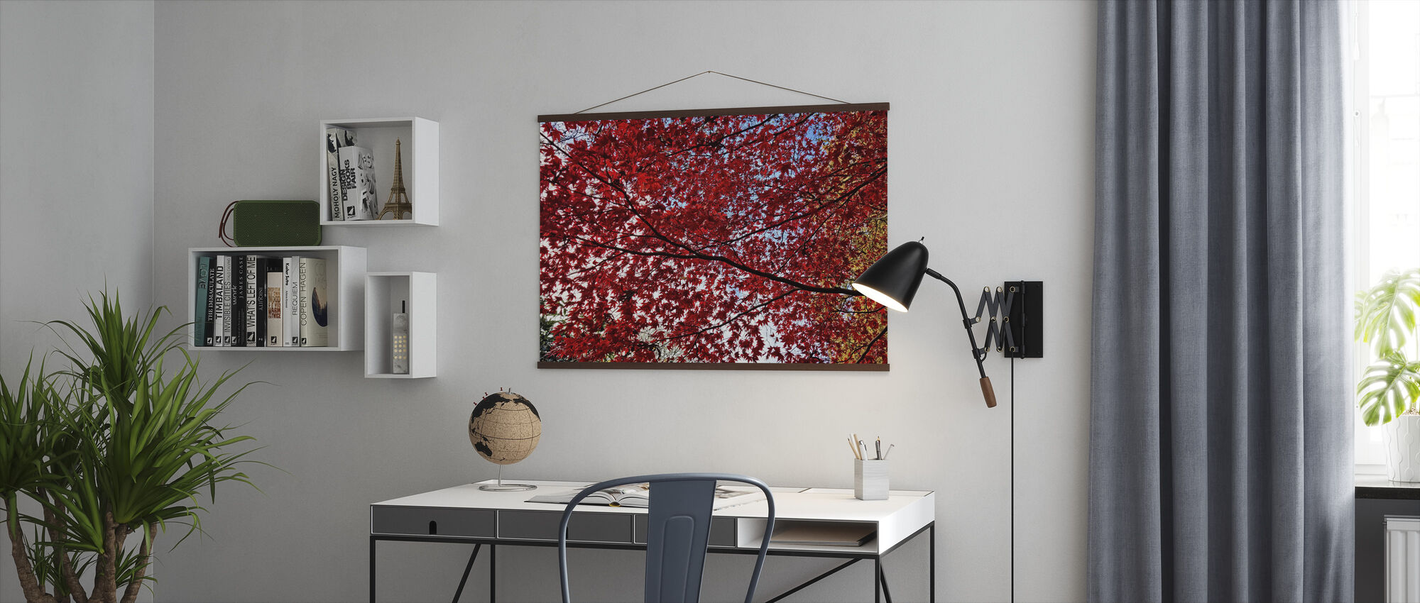 Autumn Leaves - Poster - Office