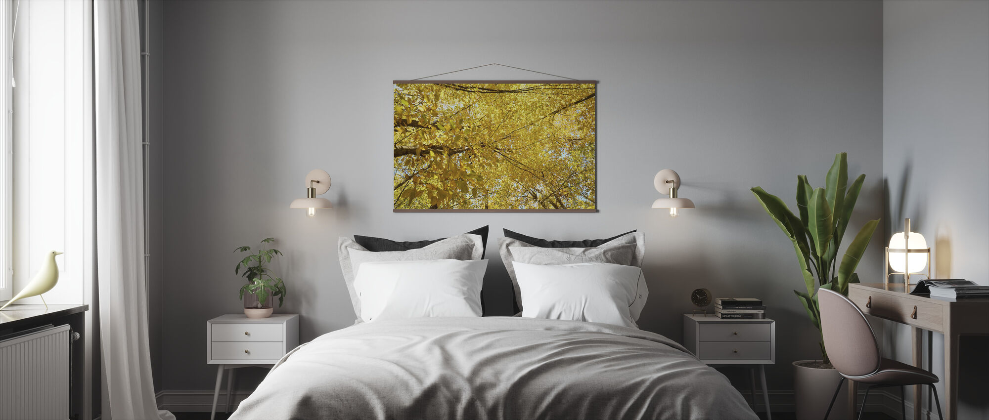 Yellow Leaves - Poster - Bedroom