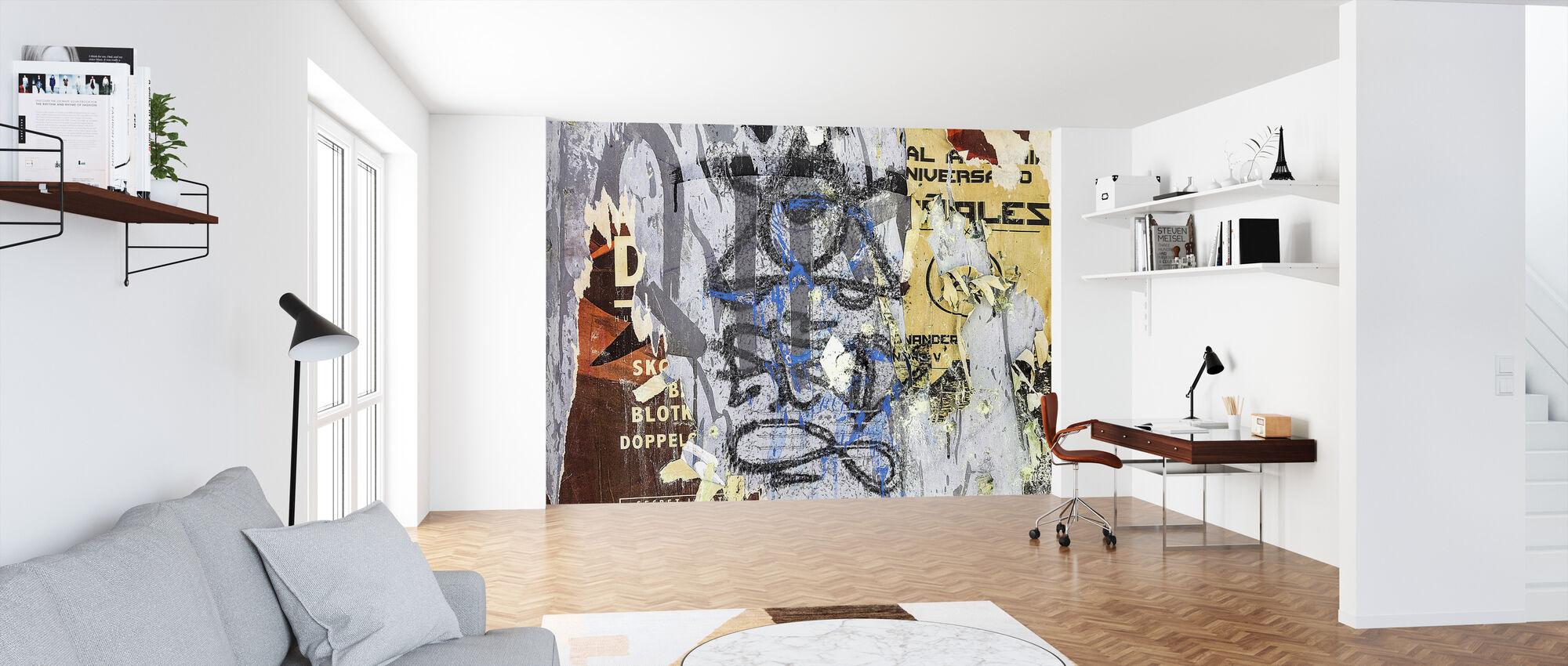 Gescheurde Posters en Graffiti - Behang - Kantoor