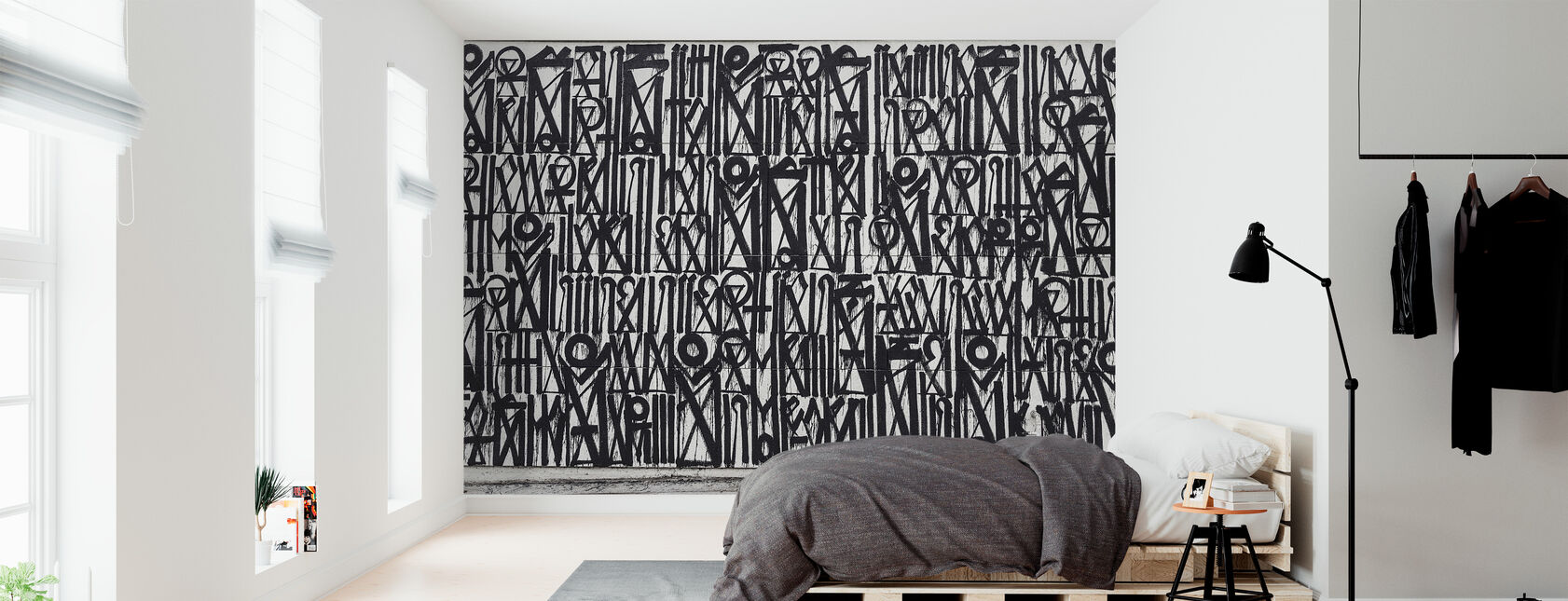 Abstract Graffiti - Wallpaper - Bedroom