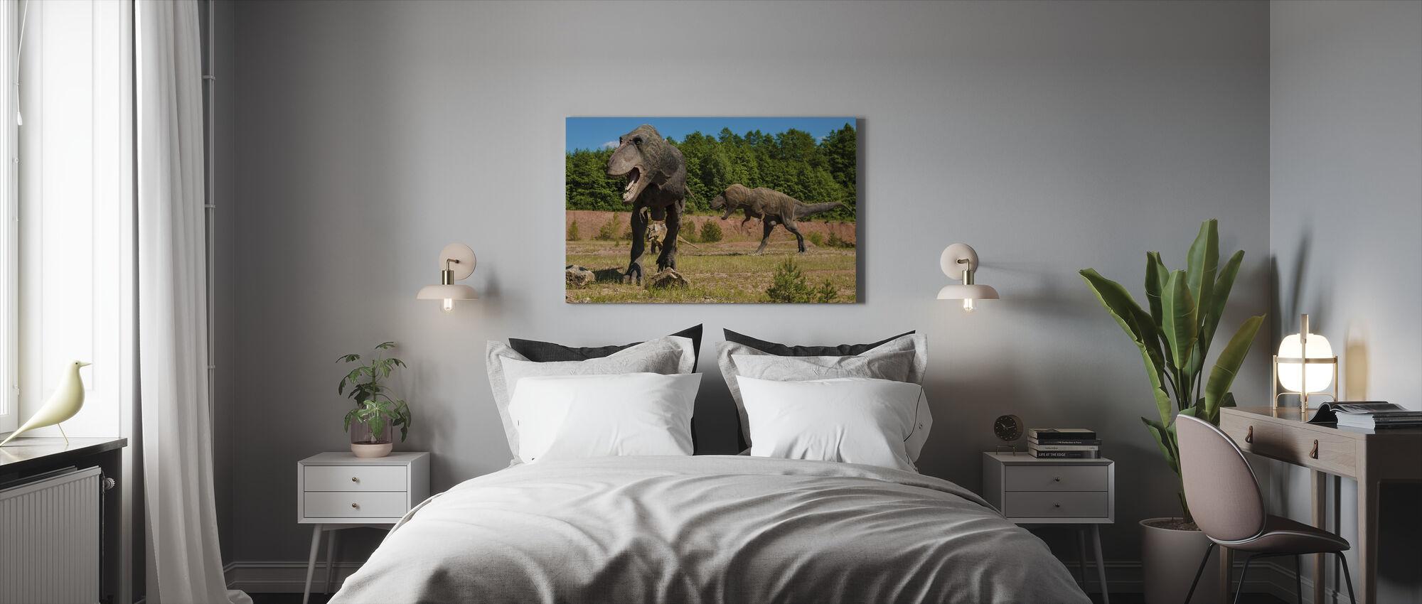 Monstruösa dinosaurie - Canvastavla - Sovrum