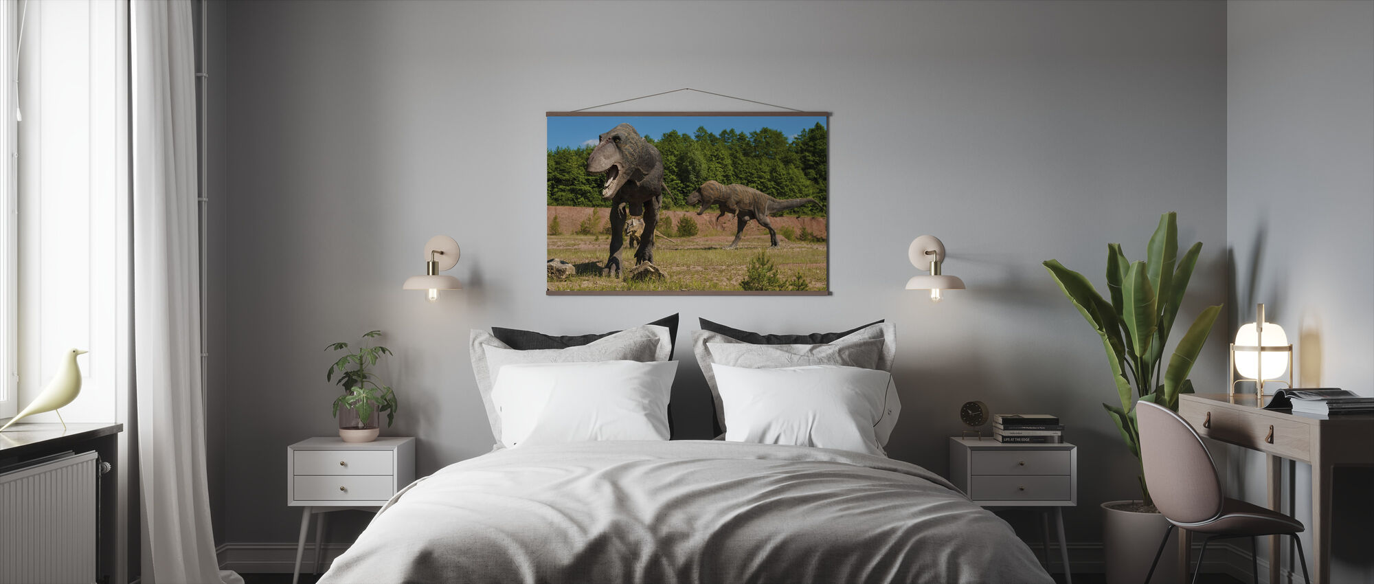 Monstrous Dinosaur - Poster - Bedroom