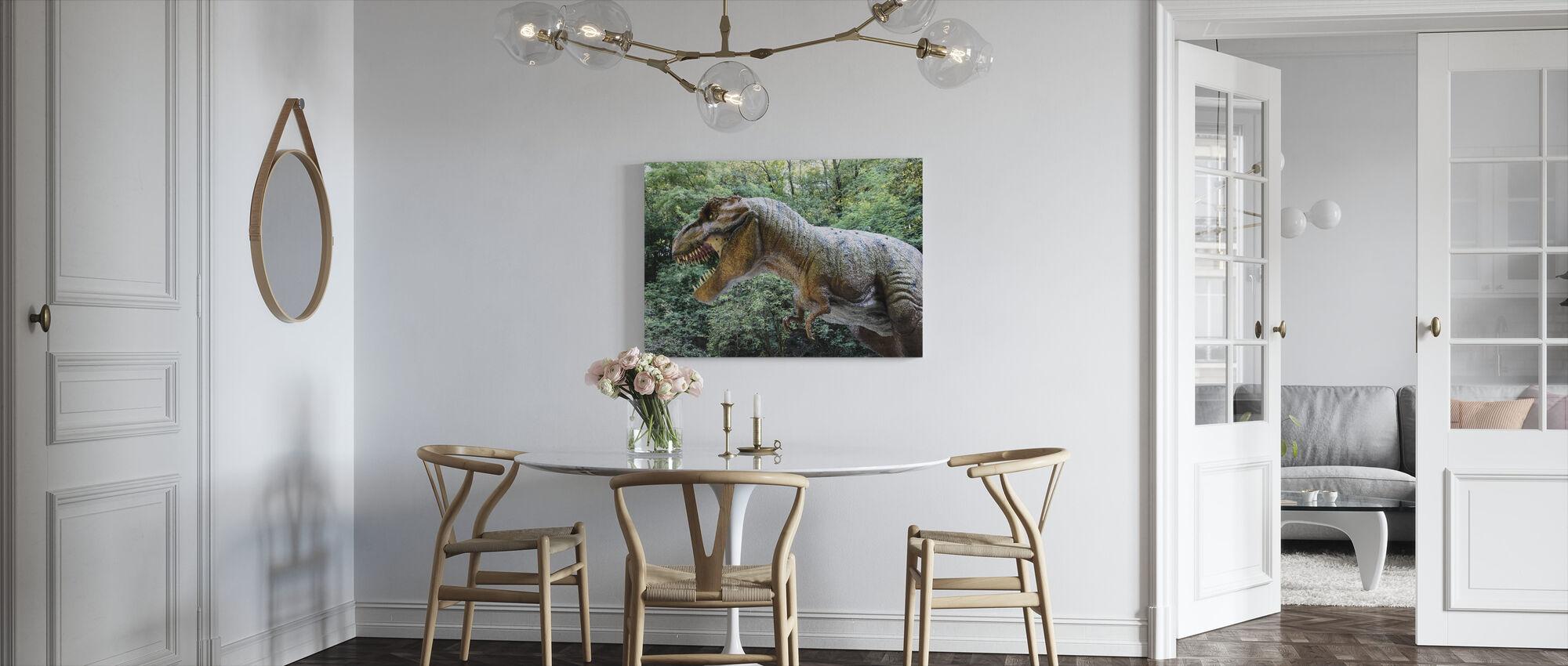 Deadly Dinosaur - Canvas print - Kitchen