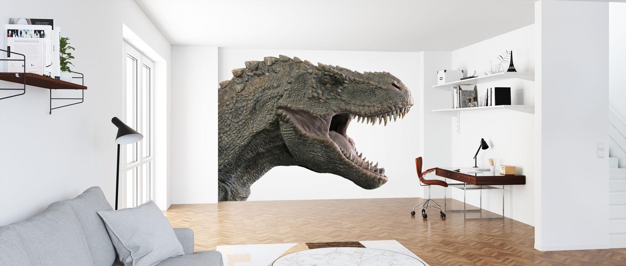 T-Rex Dinosaurie - Tapet - Kontor