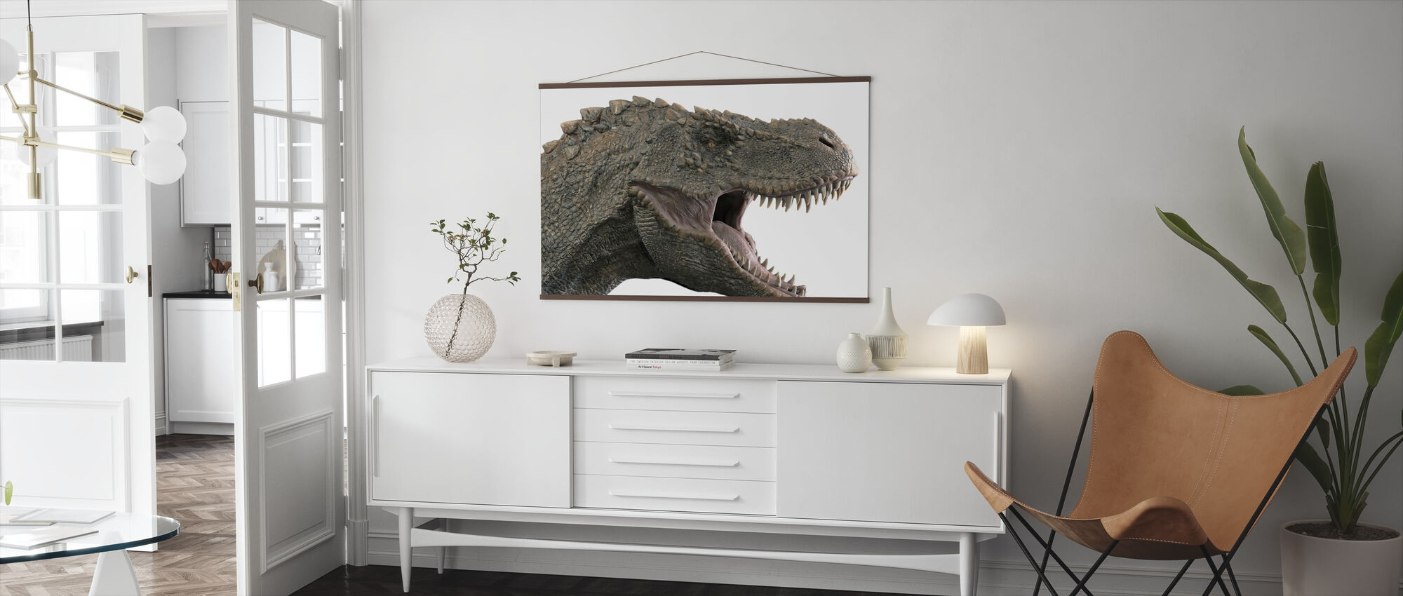 T-Rex Dinosaurie - Poster - Vardagsrum