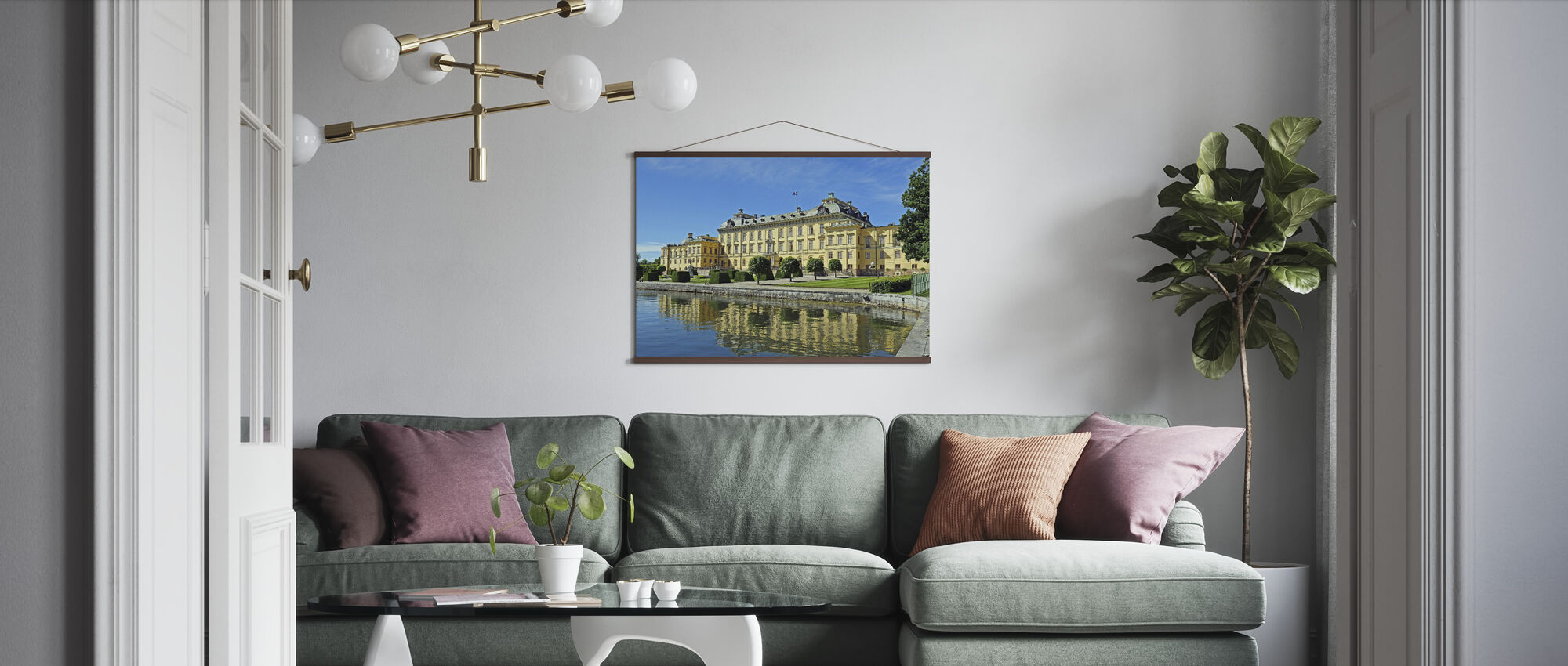 The Royal Palace - Poster - Living Room