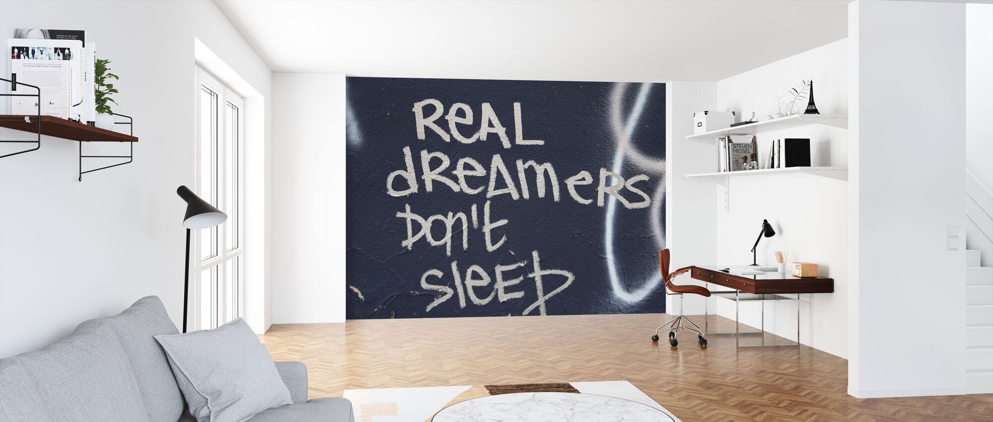 Facade Graffiti - Wallpaper - Office