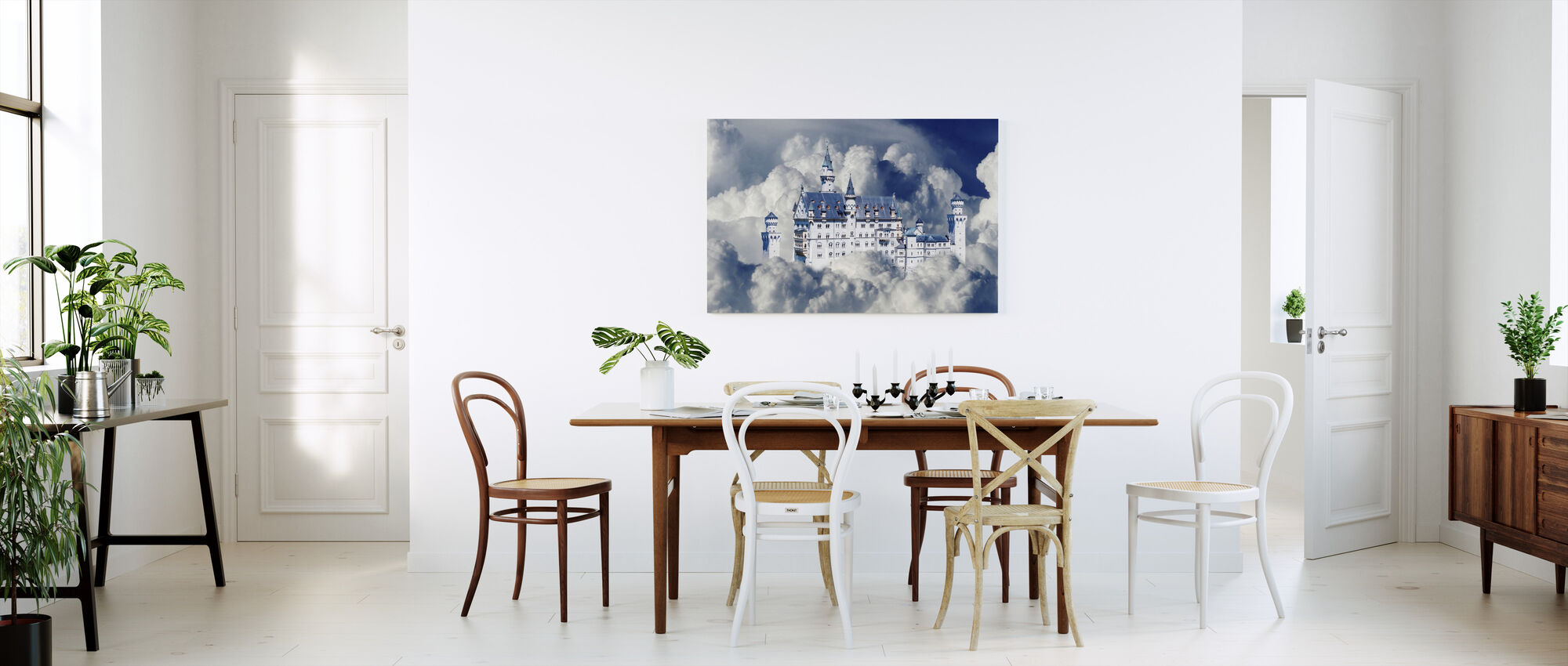 Fairy Tale Castle - Canvas print - Kitchen