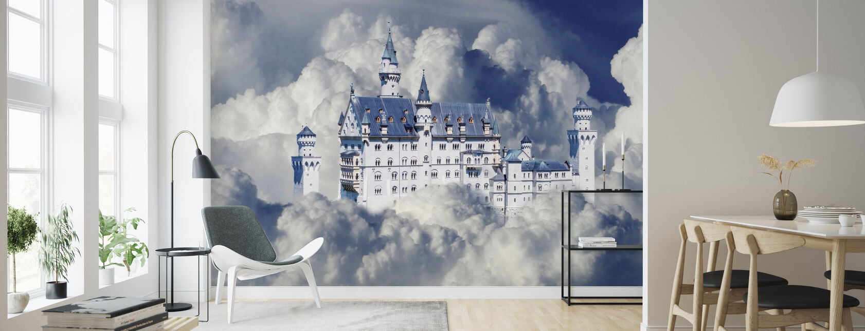 Fairy Tale Castle - Wallpaper - Living Room