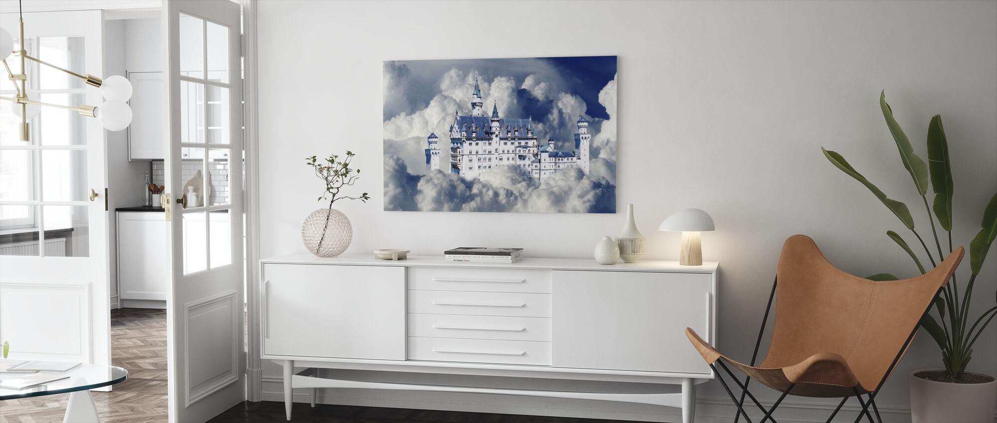 Fairy Tale Castle - Canvas print - Living Room