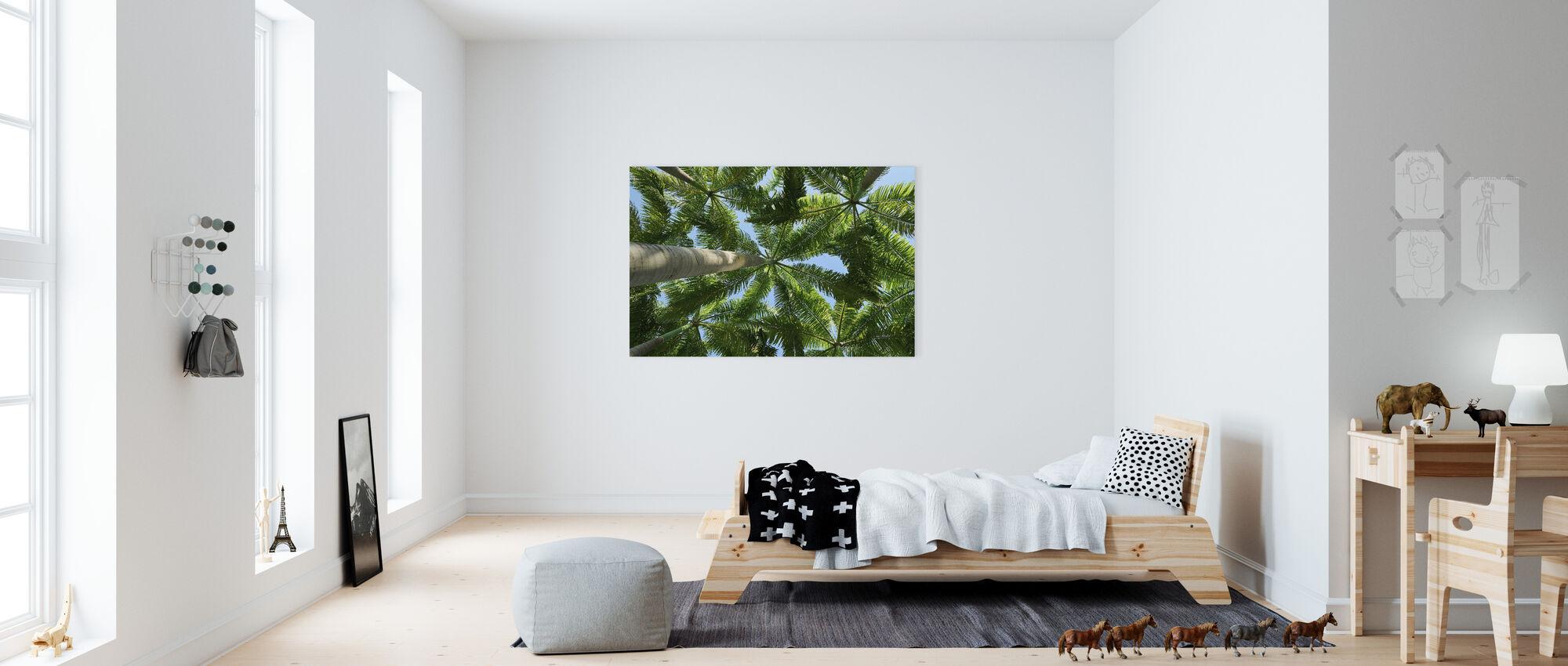 Palm Tree - Canvas print - Kids Room